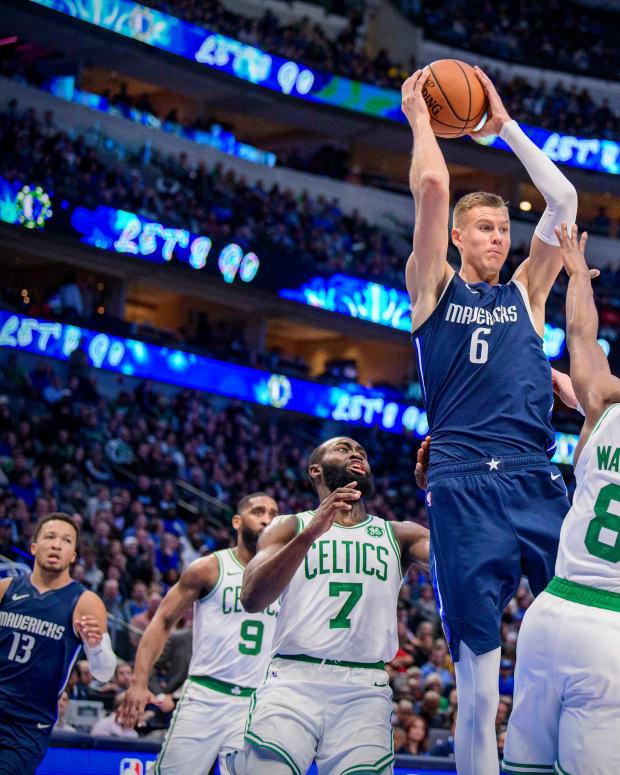 Kemba Walker, Kristaps Porzingis, Boston Celtics, Dallas Mavericks