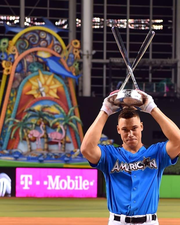 Yankees Aaron Judge wins Home Run Derby