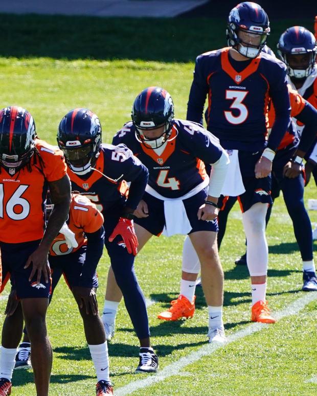 Drew Lock and the Denver Broncos