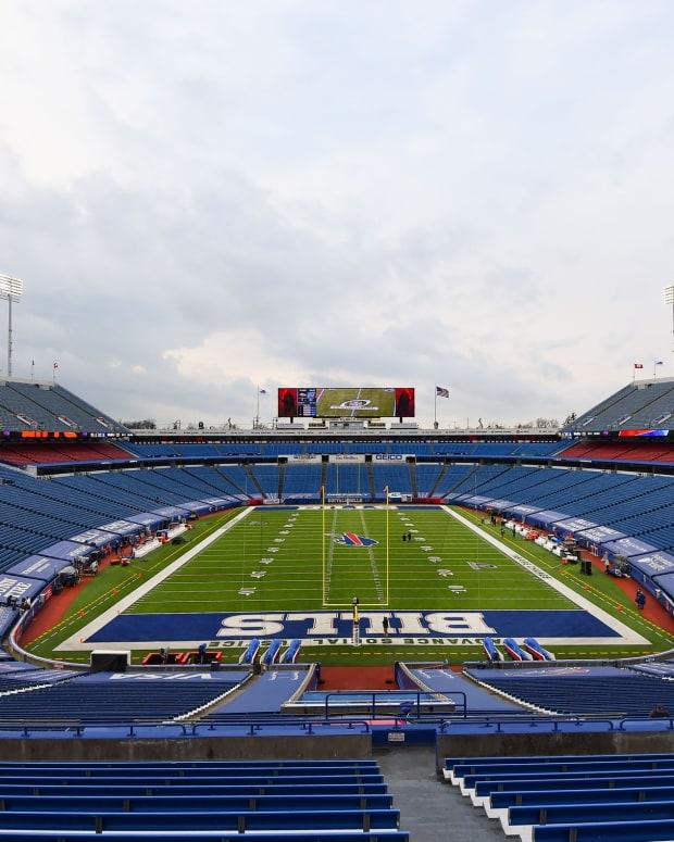 The Bills won't be playing at Highmark Stadium much longer.