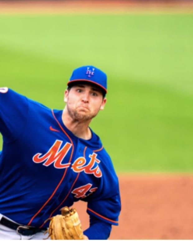 New York Mets Jerad Eickhoff
