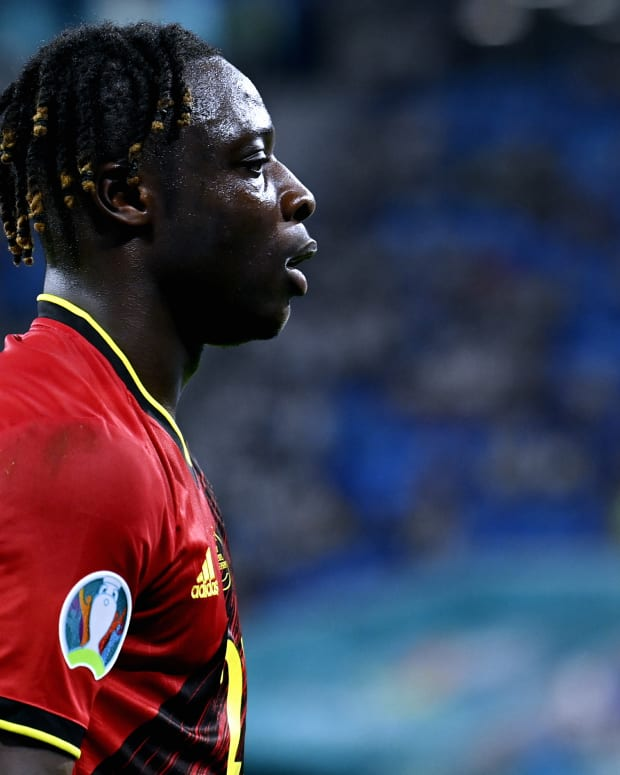 Jeremy Doku Belgium Game in the EURO'S