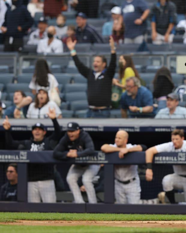 Yankees Luke Voit home run trot