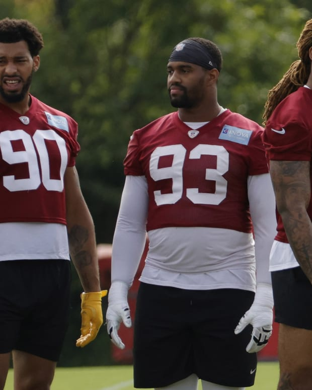 The Washington Football Team has arguably the best defensive line in the NFC East, if not all of the NFL
