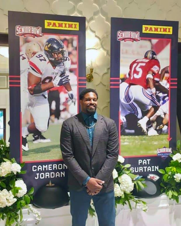 Cam Jordan Senior Bowl HOF