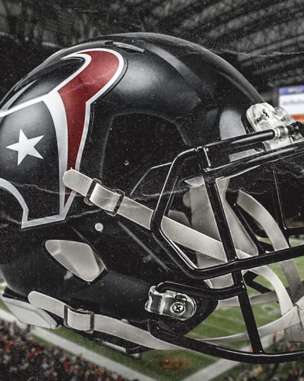 texans helmet clutch