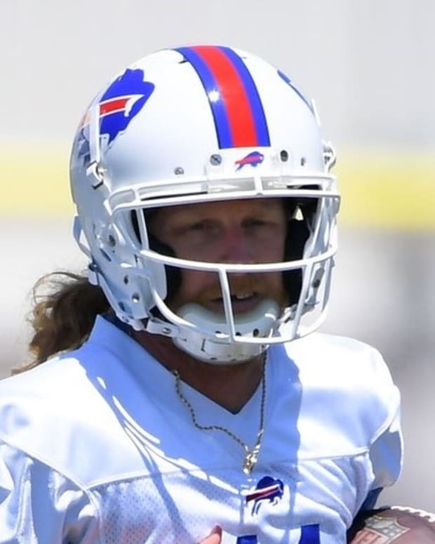 Bills WR Cole Beasley is one of the most outspoken critics of the NFL's COVID-19 policies.