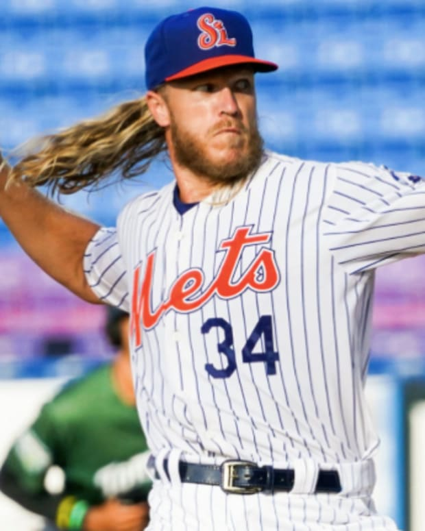 New York Mets pitcher Noah Syndergaard