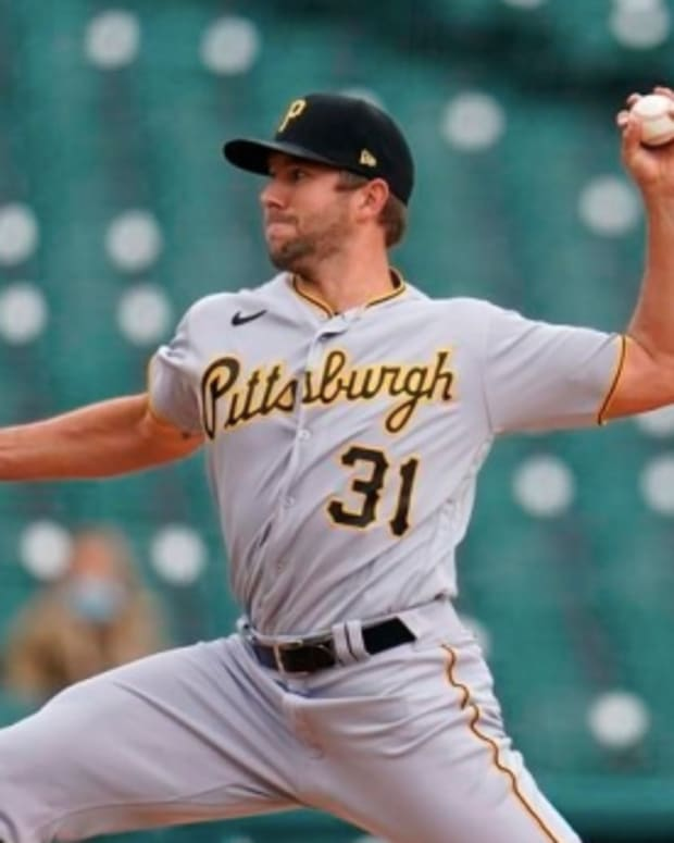 The Mets have Pirates pitcher Tyler Anderson on their radar.