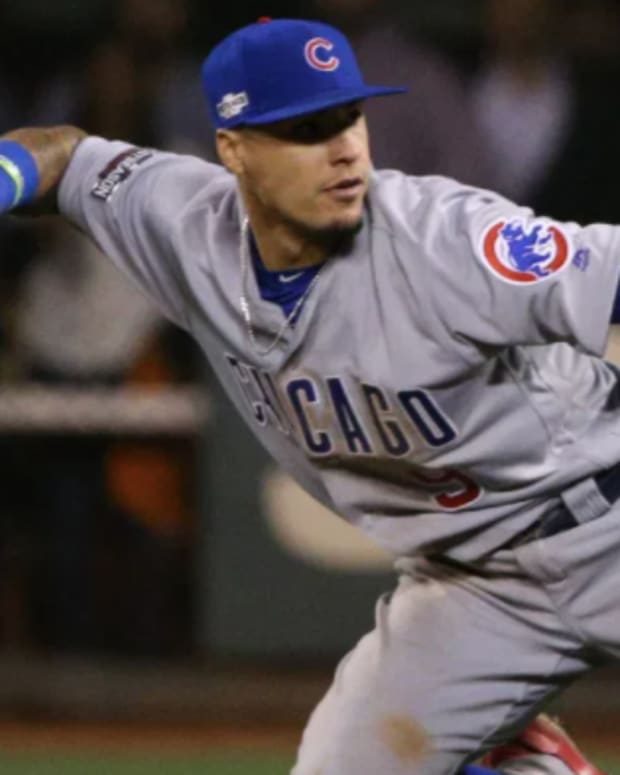 """MLB Insider Buster Olney pegs Javier Baez as the """"perfect match"""" for the Mets."""