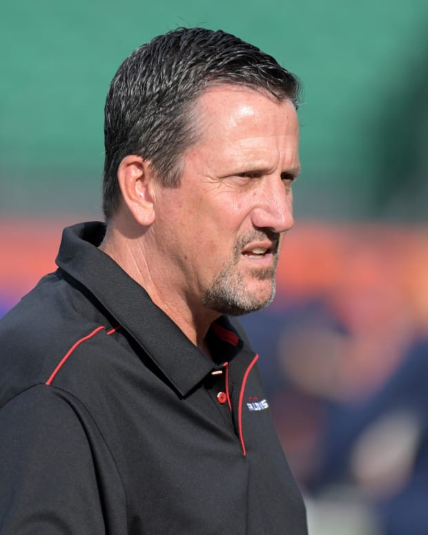 Former Atlanta Falcons coach Greg Knapp