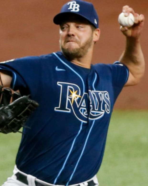 Mets have acquired LHP Rich Hill from the Rays.