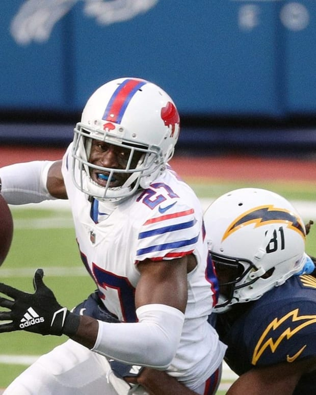 Cornerback Tre'Davious White is a top performer for the Bills.