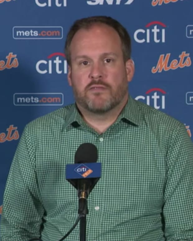 Mets GM Zack Scott