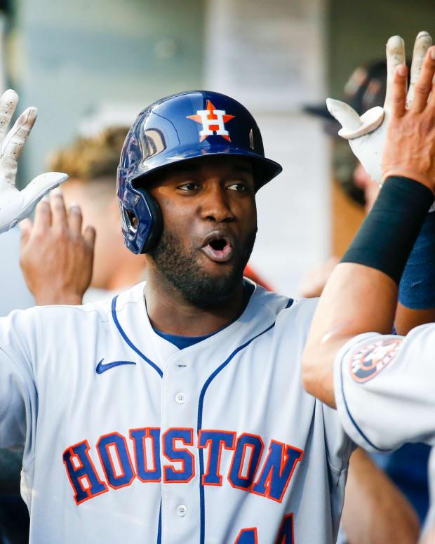 Yordan Alvarez, Houston Astros