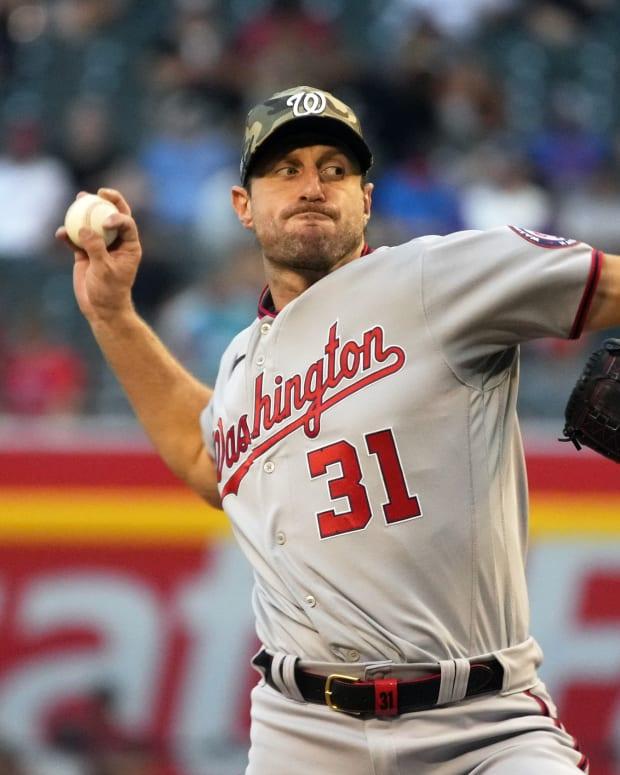 Washington Nationals SP Max Scherzer pitching