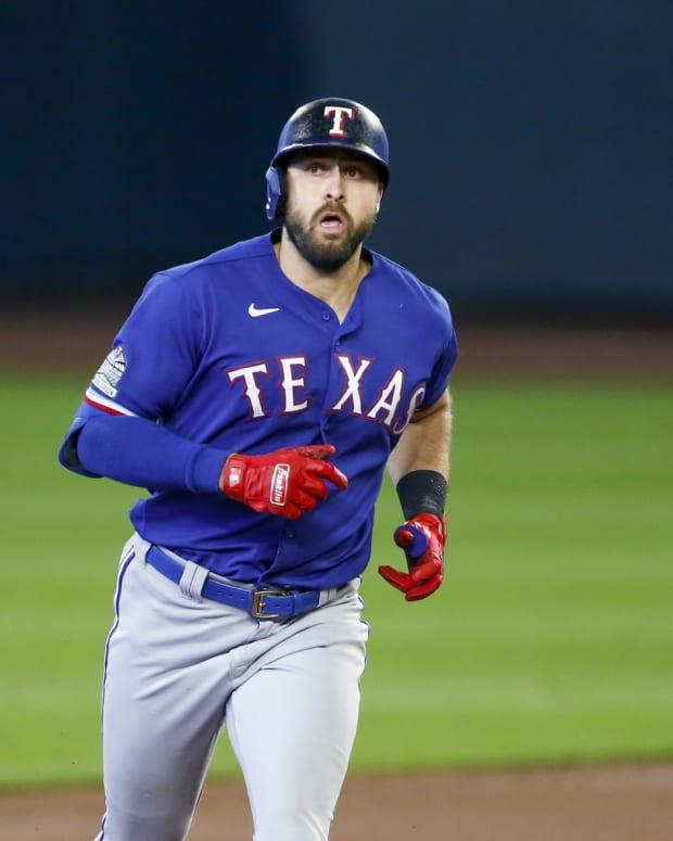 Texas Rangers OF Joey Gallo home run
