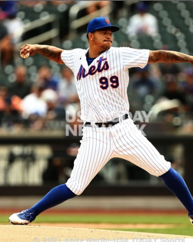 Mets pitcher Taijuan Walker's struggles continued as he gave up five more runs against the Braves on Thursday.