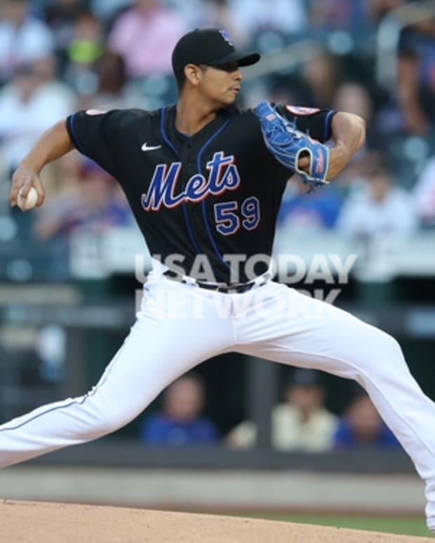 Mets pitcher Carlos Carrasco