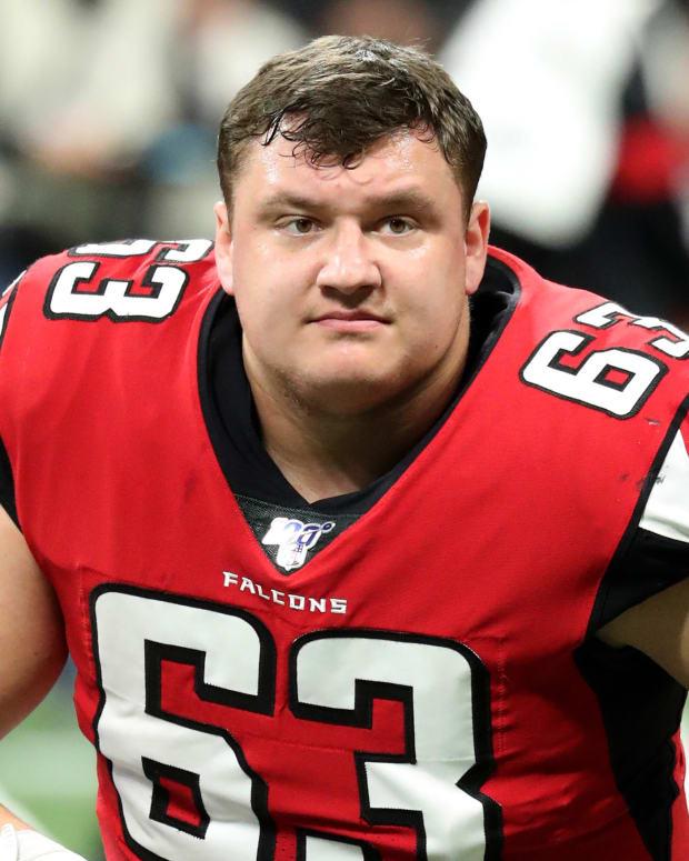 Chris Lindstrom Atlanta Falcons