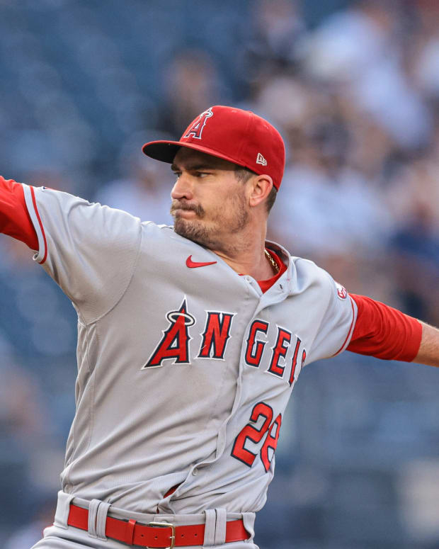Angels SP Andrew Heaney