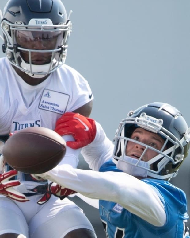 Elijah Molden has put his coverage skills on display with the Titans.
