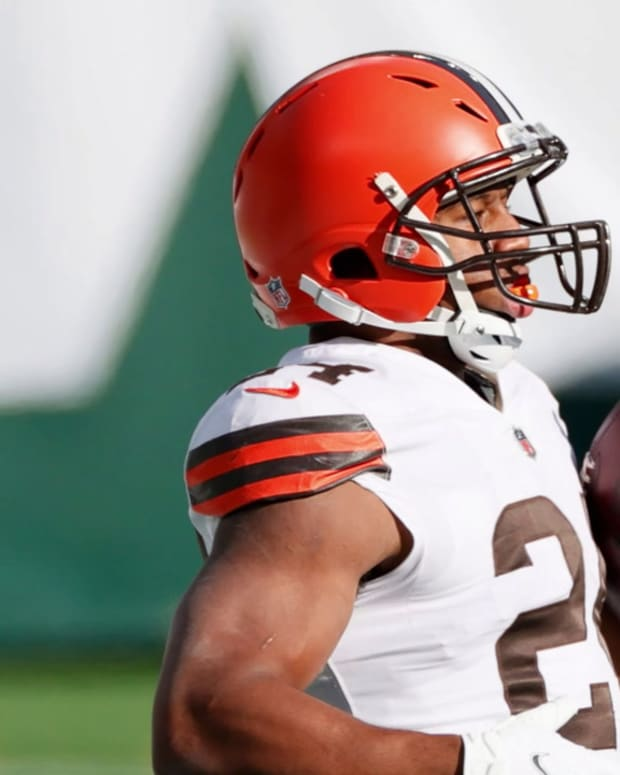 Cleveland Browns, Running Back Nick Chubb Agree to 3-year Extension