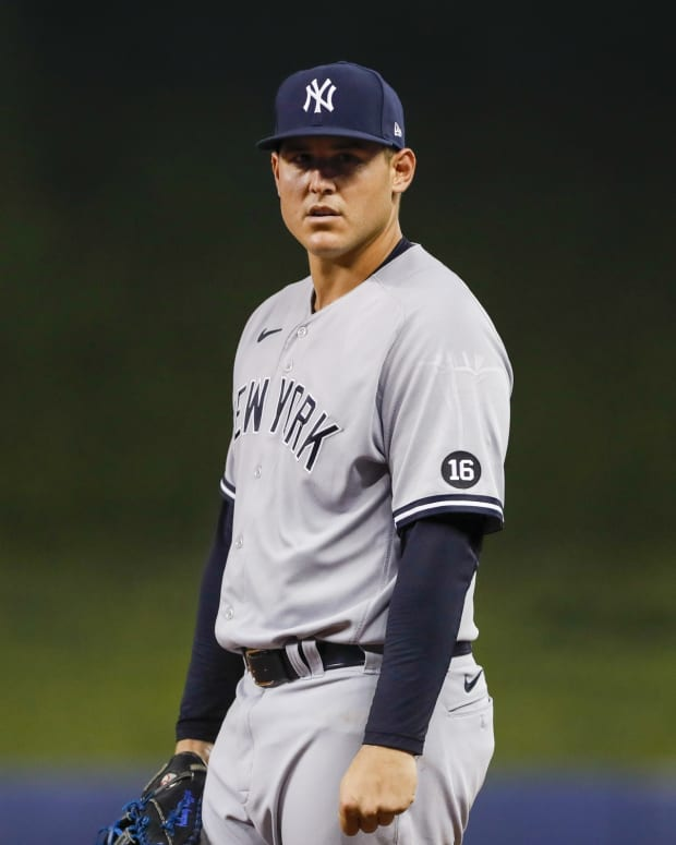 Yankees 1B Anthony Rizzo on defense