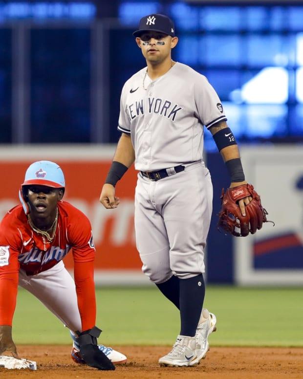 Yankees 2B Rougned Odor, Marlins 2B Jazz Chisholm Jr.