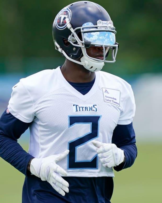 Julio Jones, Titans practice