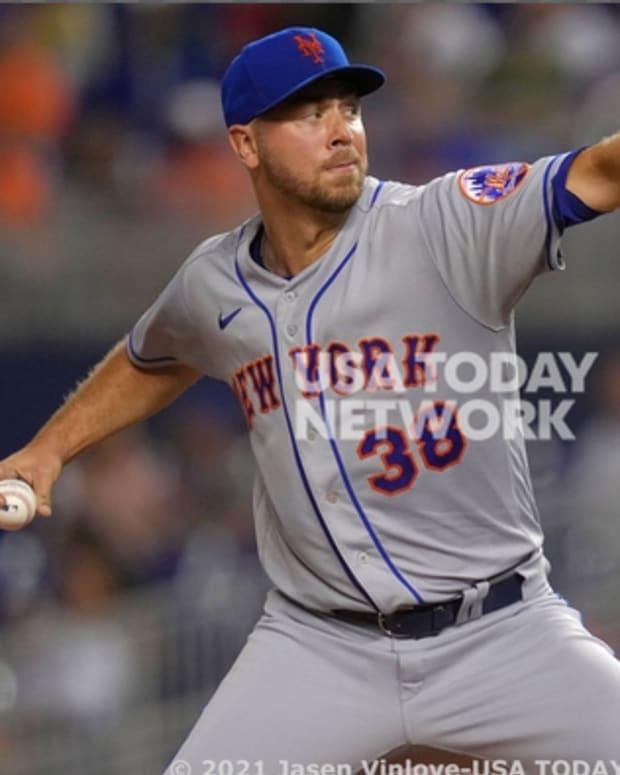 Mets rookie Tylor Megill