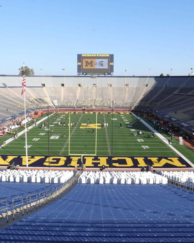 The Big House was empty last season for the most part.