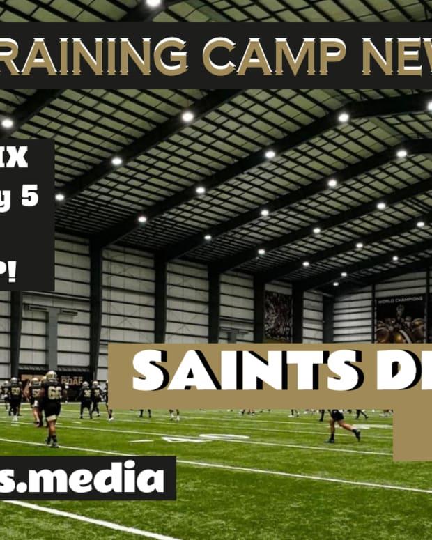 Saints Training Camp News - Saints Defense Rules