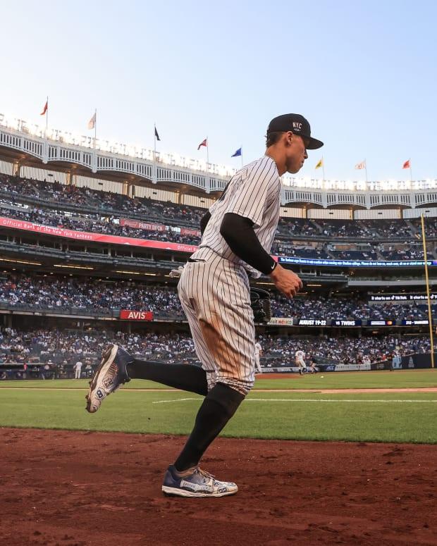 Yankees RF Aaron Judge at Yankee Stadium