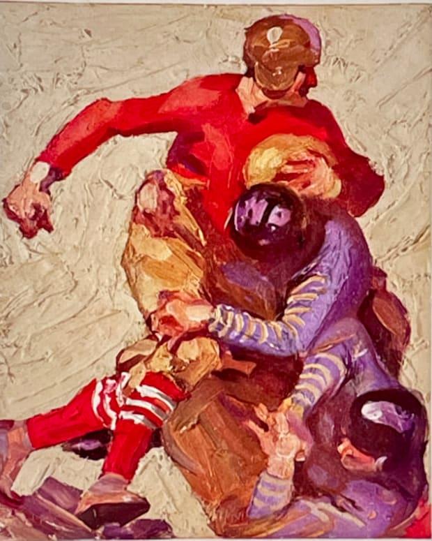 1926 Rose Bowl game cover: Alabama vs. Washington