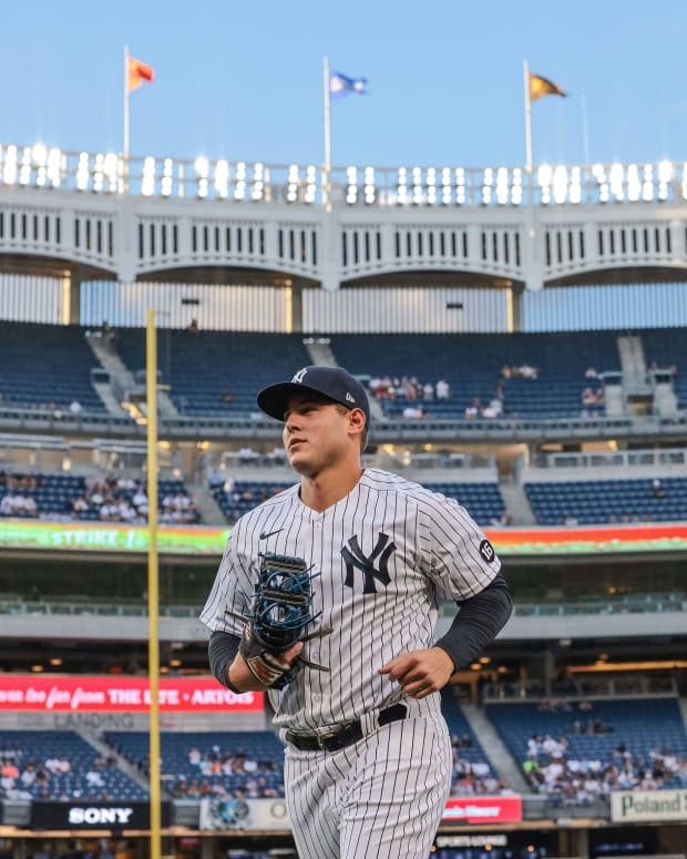 Yankees 1B Anthony Rizzo at Yankee Stadium