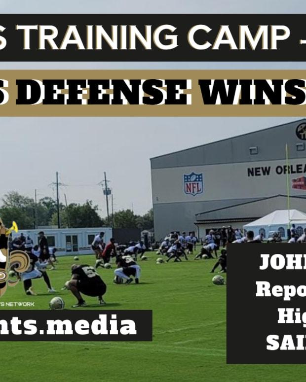 Saints Training Camp - Day 7
