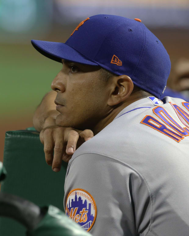 Mets manager Luis Rojas' job is safe.