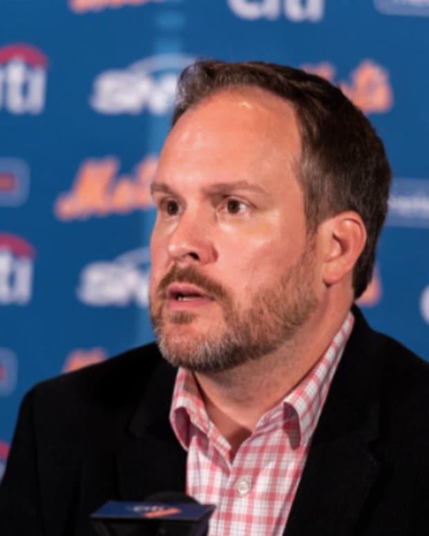 Mets acting general manager Zack Scott.