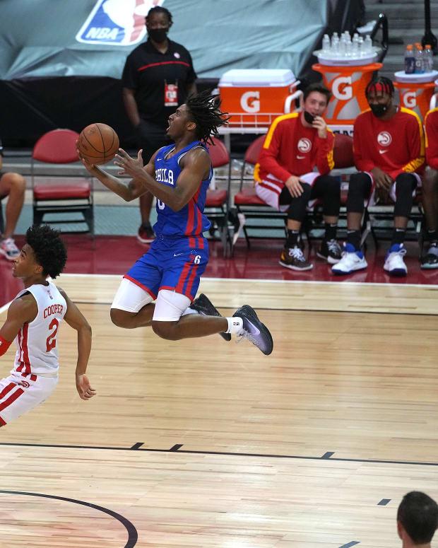 Philadelphia 76ers Tyrese Maxey