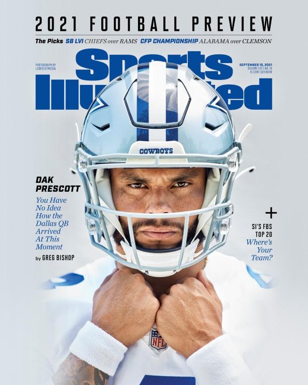 Dak Prescott Sports Illustrated cover