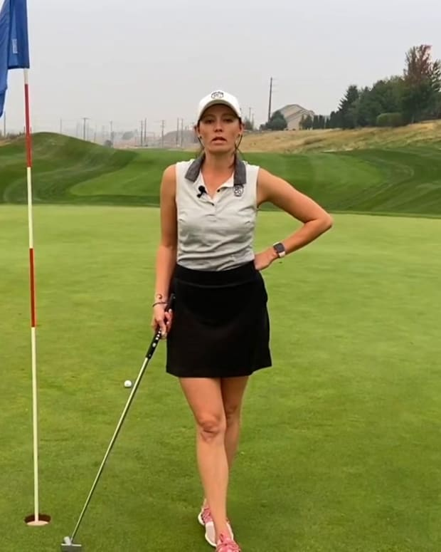 Golfers' guide to side-saddle putting_ An introduction