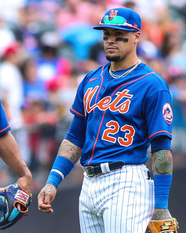 Mets middle infielders Francisco Lindor and Javier Báez