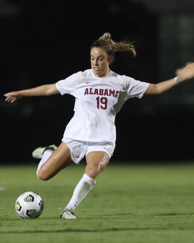 Ashlynn Serepca, Alabama soccer