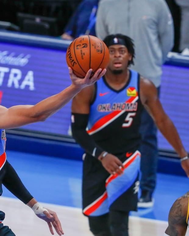 Isaiah Roby, LeBron James, OKC Thunder