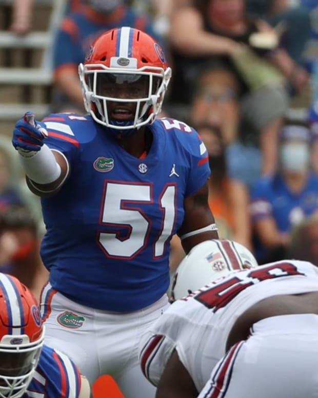 Florida linebacker Ventrell Miller