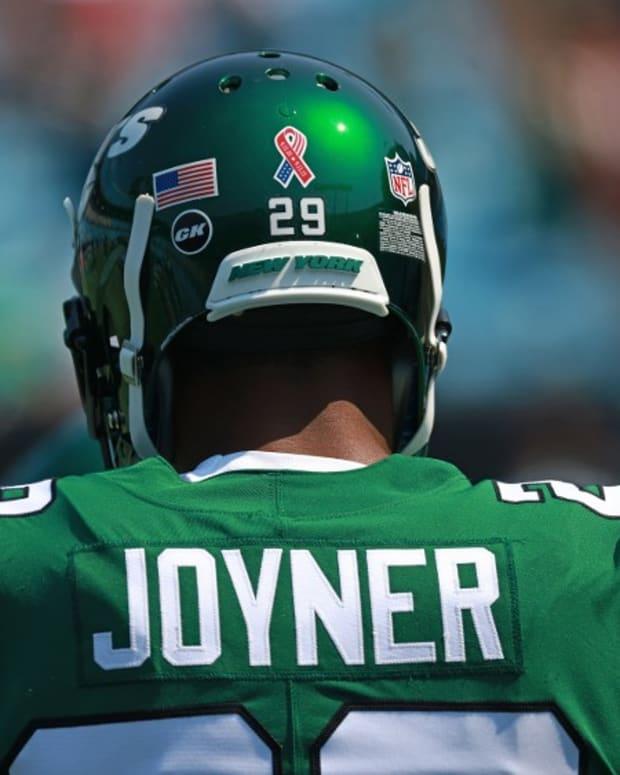 Jets safety Lamarcus Joyner