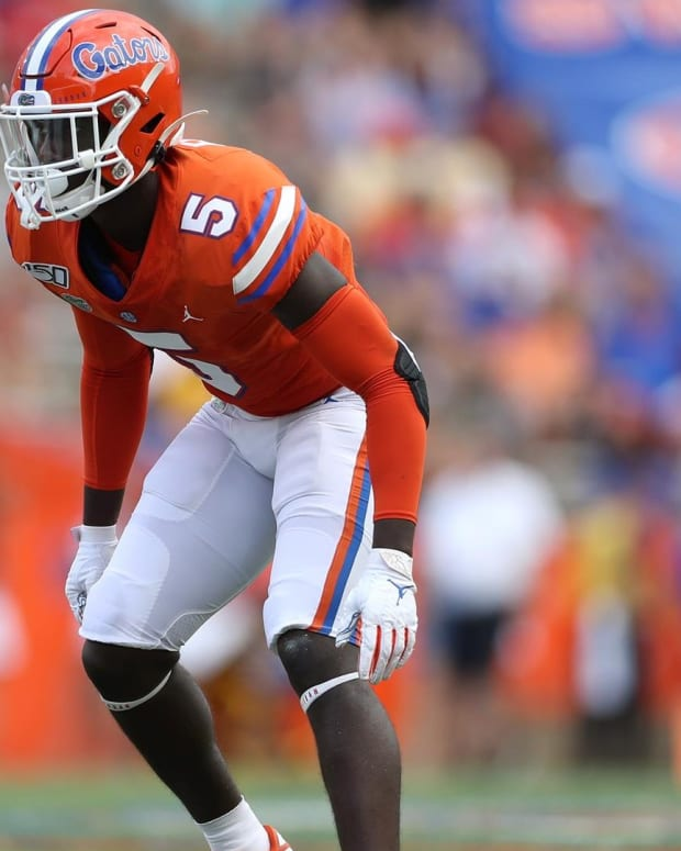 Florida cornerback Kaiir Elam