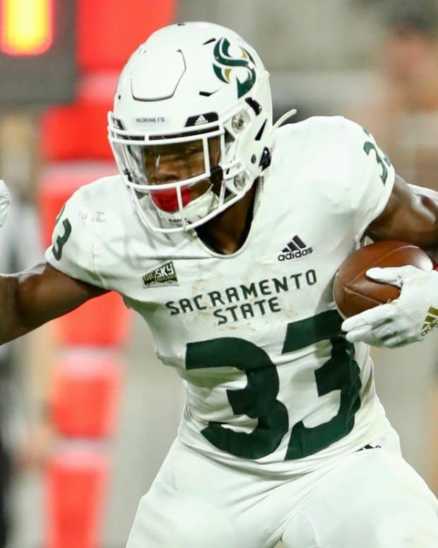 Sacramento State running back Elijah Dotson