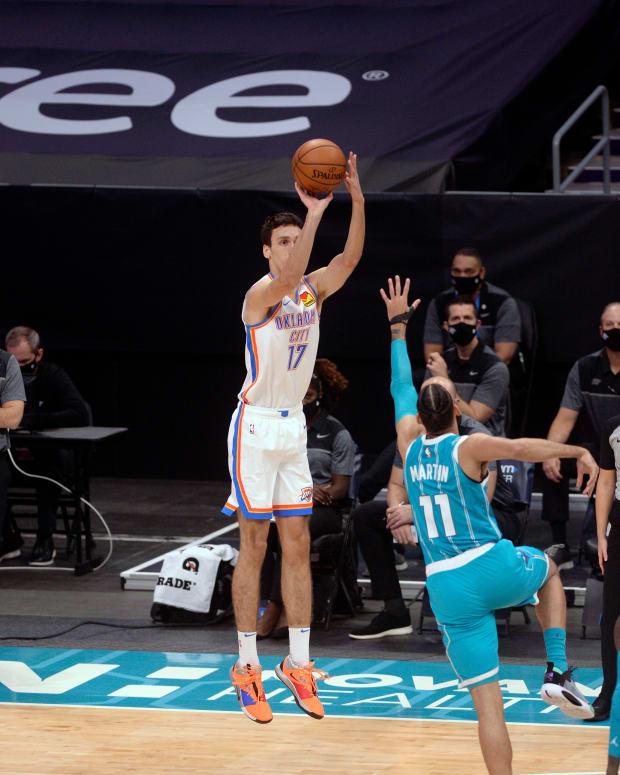Aleksej Pokusevski, OKC Thunder, Charlotte Hornets